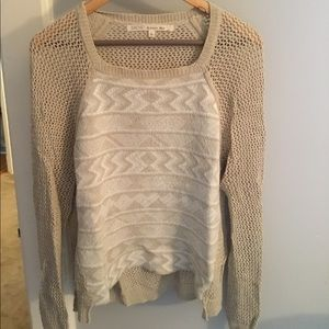 RACHEL Rachel Roy Sweater with Open Back